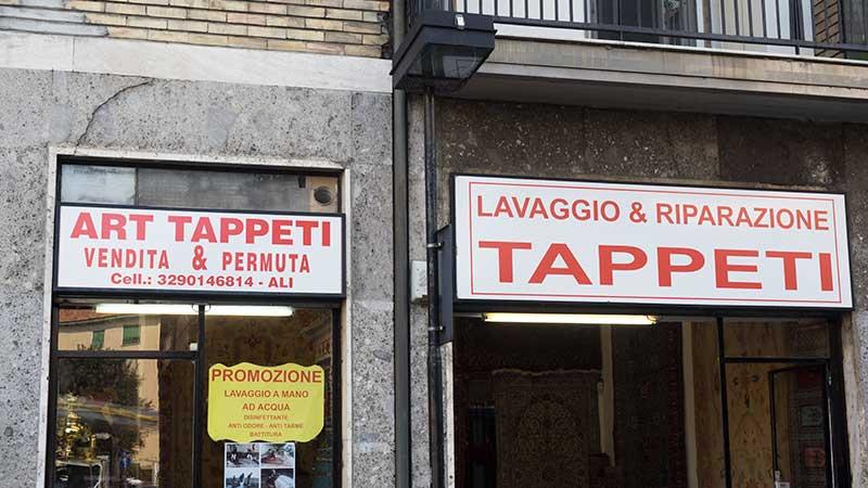 negozio lavaggio tappeti a milano zona Baggio - San Siro